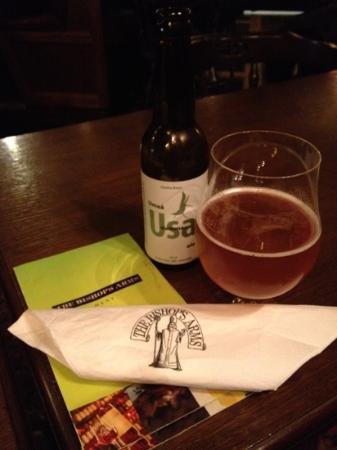 The Bishops Arms: Good menu, local beer