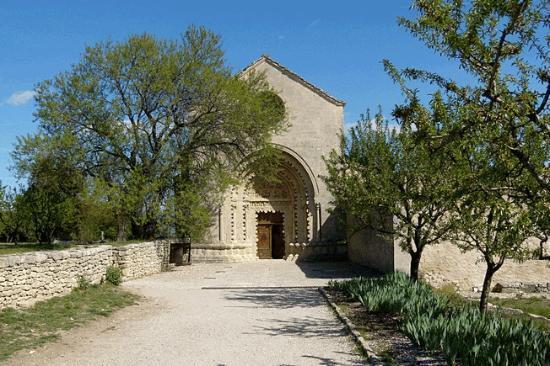 Forcalquier, Prancis: Abbaye Notre Dame de Ganagobie