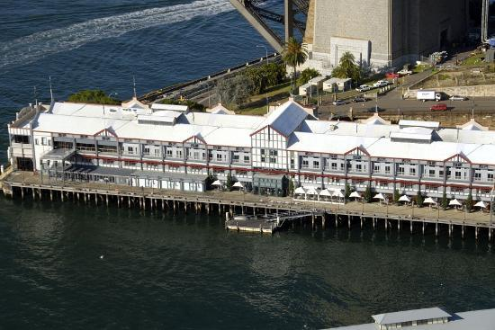 Pier One Sydney Harbour, Autograph Collection: Aerial view of the hotel