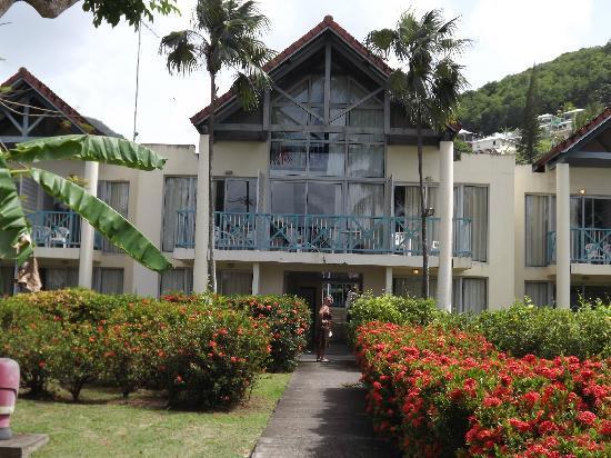 Hotel-Club Trois Ilets: Chambres