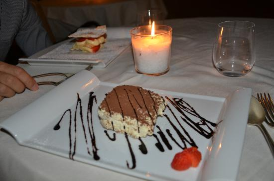Taverna La Fenice : Excellent tiramisu!!!