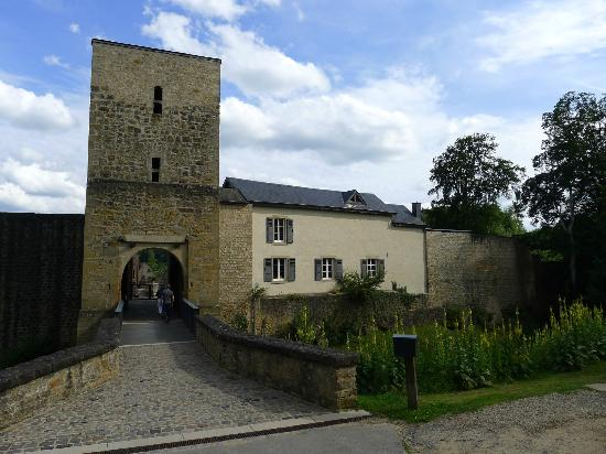 Larochette, Luxembourg: The main entrance