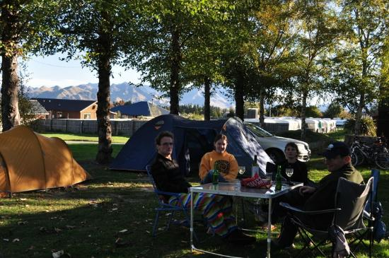 Hanmer Forest: Camping at Hanmer