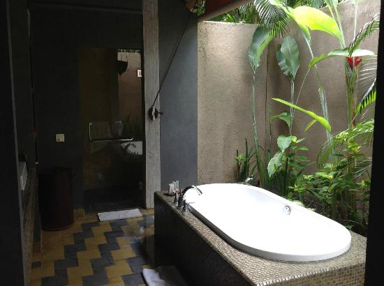 Space at Bali: the bathroom part 1