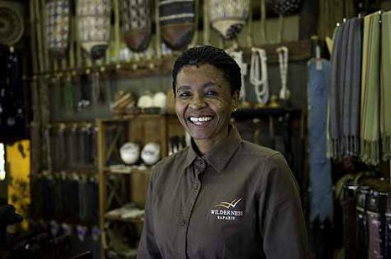 Wilderness Safaris Savuti Camp : Savuti Camp Staff In Curio Shop