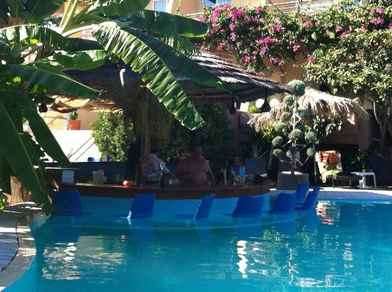 Hotel Kallithea : Poolbaren