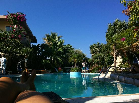 Hotel Kallithea: Poolen