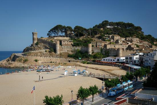 Hotel Diana : Вид с балкона на крепость