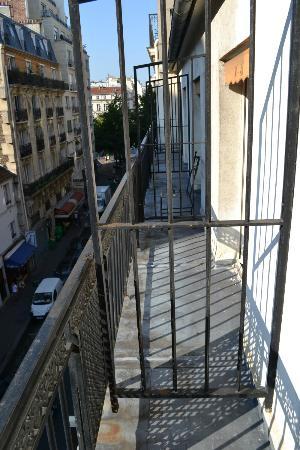 Unic Hotel: the balconetter 