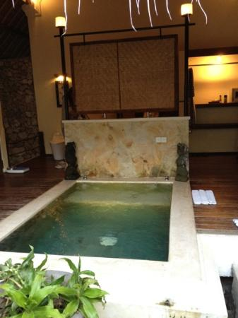 Naya Gawana Resort & Spa: hot spring bath