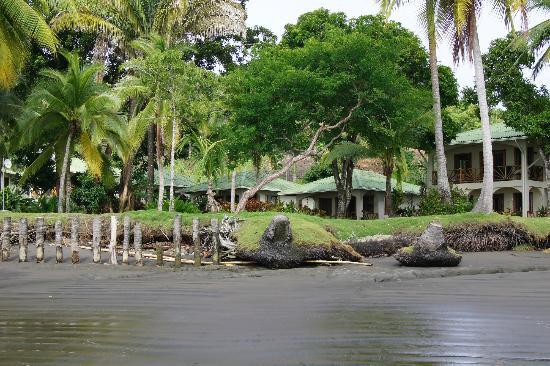 Hooked On Panama Fishing Lodge : vista dalla spiaggia