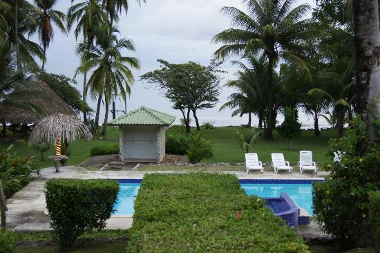 Hooked On Panama Fishing Lodge : piscina