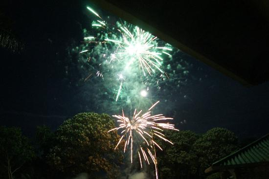 Hooked On Panama Fishing Lodge: fuochi d'artificio