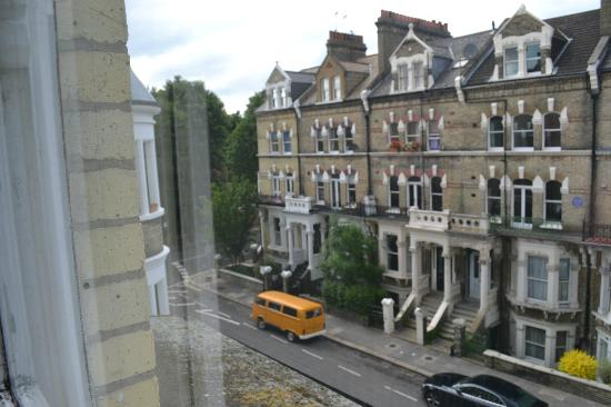 The W14 Kensington : View from window