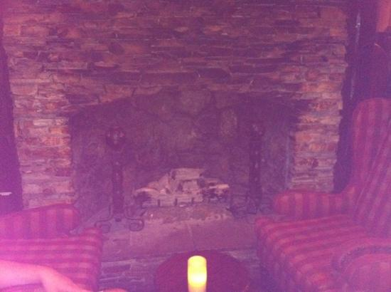 The Cheshire: fireplace in fox n hound