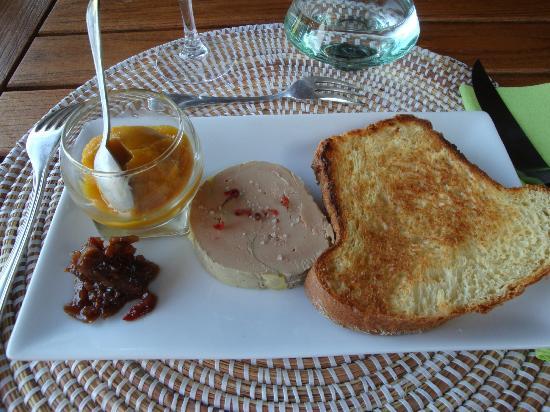 Clot des Tilleuls : le foie gras maison!