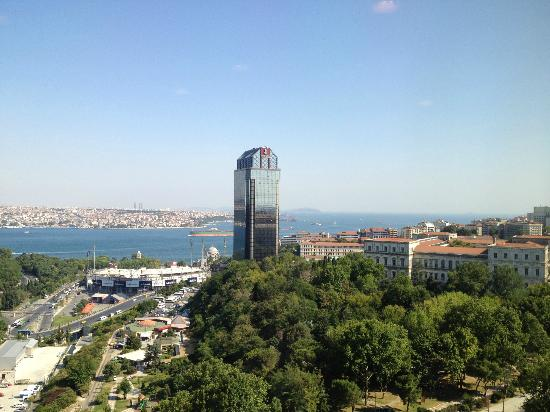 Hilton Istanbul Bosphorus View Of From Executive Lounge