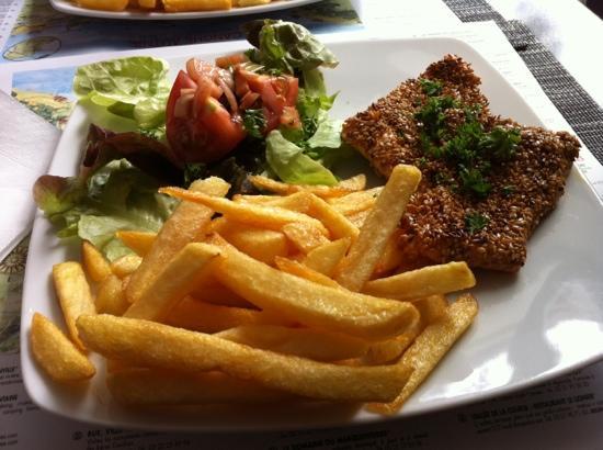Sofish: saumon graine de sésame aujourd'hui ^^