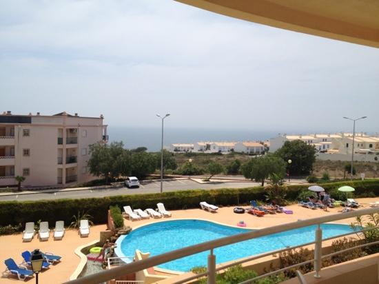 Praia da Luz: view from our apartment