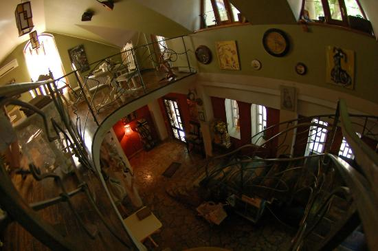 Antresol: Stairway to second floor
