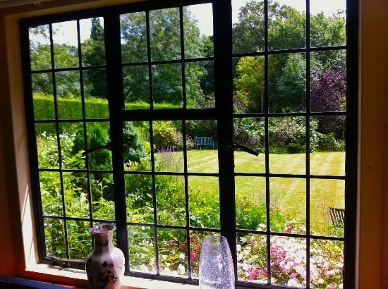 Highwoods Farm B and B: The view from the Lounge