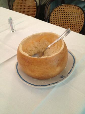 Trattoria del Pescatore: The cheese after lunch