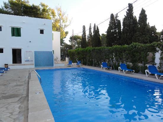 Casa Ceiba Maria: Het zwembad met het hotel op de achtergrond