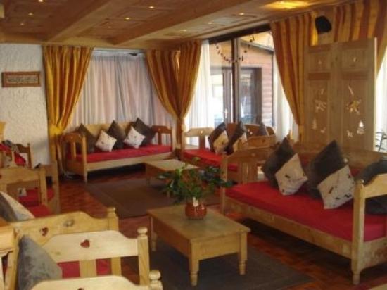 Hotel Club Le Cret: Espace séjour