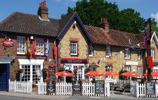 The Hatch Pub: The Hatch prior to the jubilee