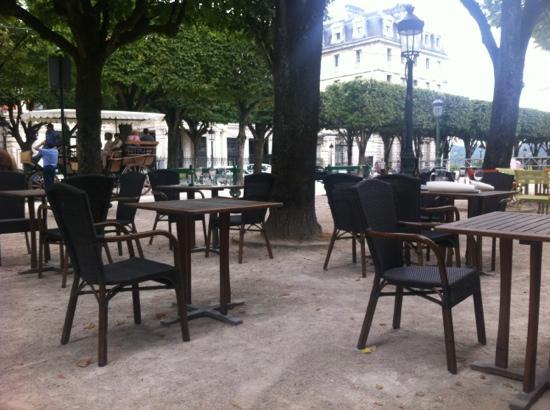 Pau, France : la terrasse
