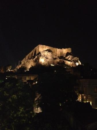 Hotel Phaedra: vue de notre terrasse privée