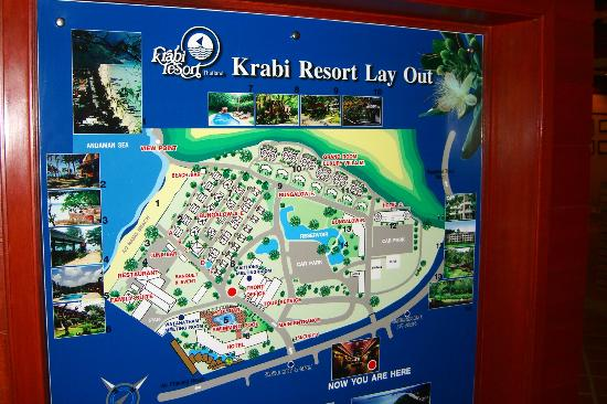 Krabi Resort: Hotel Layout