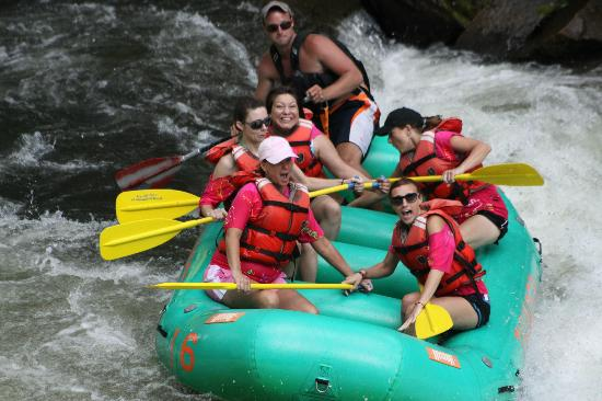 Rolling Thunder River Company - Private Adventures: lol there I am smiling!!!
