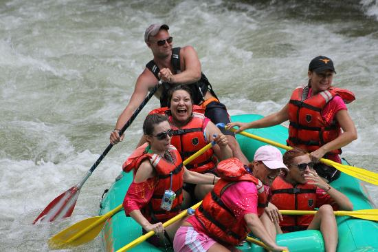 Rolling Thunder River Company: we came to ride the river in a raft and did it