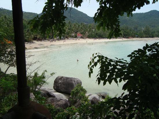 Koh Tao Cabana: Utsikt fra rommet