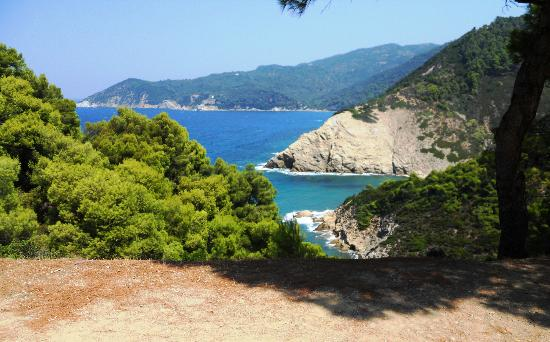 National Marine Park of Alonissos and Northern Sporades: Skiatos - costa nord