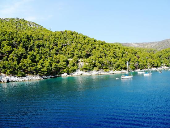 Alonissos - panorama - Bild från National Marine Park of ...
