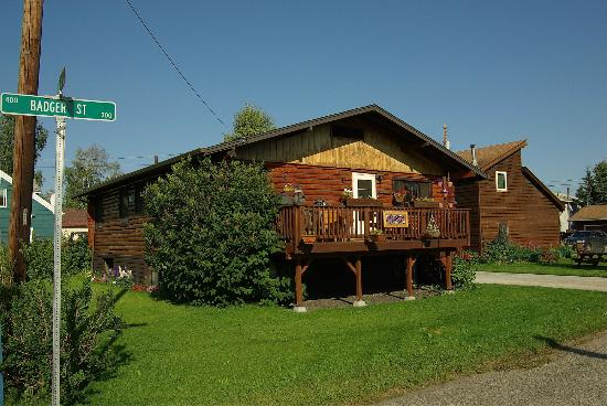 Downtown Log Cabin Hideaway Bed and Breakfast - Fairbanks, Alaska: A nice part of Fairbanks