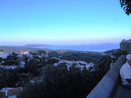 Alonissos- tramonto dal paese - Foto di National Marine ...