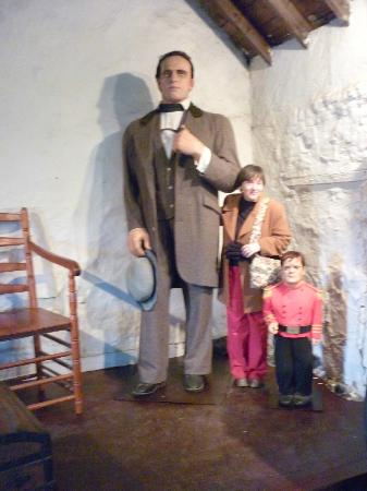 A Lifesize Recreation Of The Giant One Of Our Group And