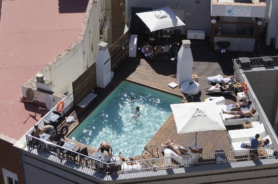 Hotel Molina Lario: piscine sympa sur le toit, petite mais très confortable