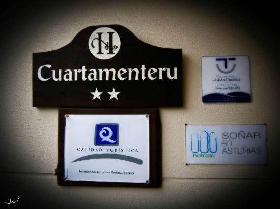 Hotel Rural Cuartamenteru: Marcas de Calidad