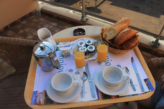 Hotel Le Maritime : pdj