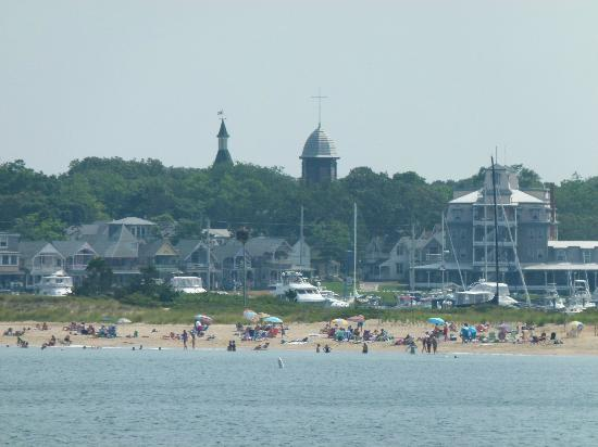 Oak Bluffs Inn : Oak Bluffs - vue depuis le Ferry