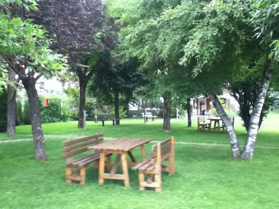 Grand Hotel Biancaneve : giardino