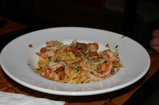 Ginger: Shrimp pasta