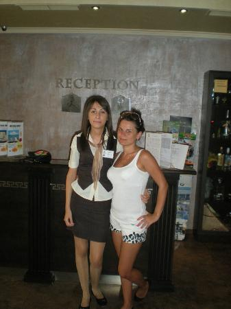 Forum Hotel: best girl from reception!!!