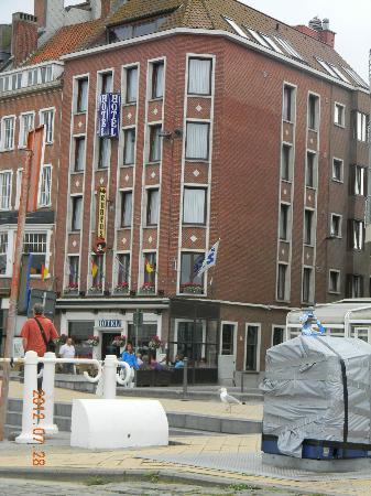 Hotel Rubens : Hotel vu de l'extérieur.
