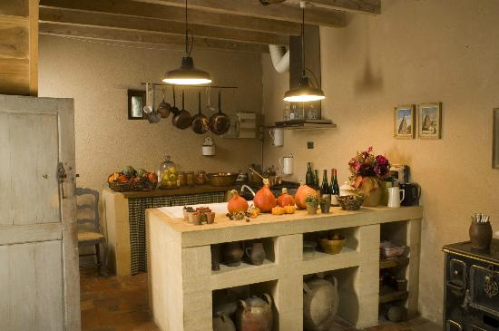 Le Moulin Bregeon: Our teaching kitchen for cooking courses with our expert chef.