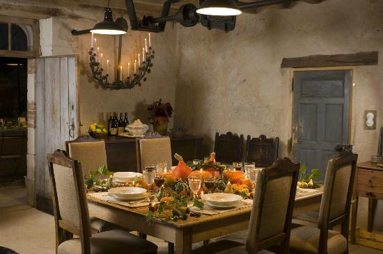 Le Moulin Bregeon: Our main dining room.